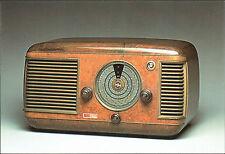 "CARTOLINA - 100 ANNI DI RADIO - RADIORICEVITORE ""NICOLETTA"" IMCA IF51 - 1949"