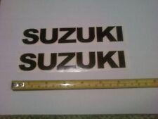 2 Suzuki Factory Decals Sticker Graphics Swingarm