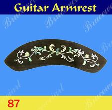 Free Shipping, Guitar Part - Armrest  W/Mop Art Inlay (G-87-5)