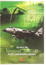 THE QUEST FOR VERTICAL TAKE-OFF SECRET SUPERPOWER AIRCRAFT DVD