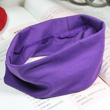 Wicking Sweatband Wide Hair Band Elastic Headbands Hair Ribbon Stretch Ribbon