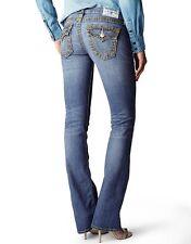 NWT $326 True Religion Belmont Court Bootcut Big T Super T Mica jeans size 23