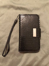 Brand New! Unisex iKOVER Black Wallet-Cover For iPhone 4G/4GS