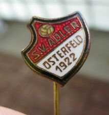 alte Nadel vom SV Adler Osterfeld 1922             FV Niederrhein     emailliert