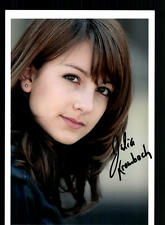 Julia kiombach foto original firmado # bc 35846