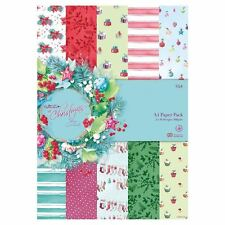 Lucy Cromwell Christmas A4 Paper Pack  32 sheets 16 designs great forcraft