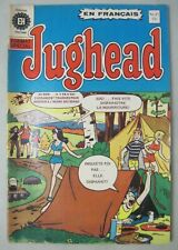 JUGHEAD No 27 EDITIONS HERITAGE FRENCH QUEBEC CANADA ARCHIE COMICS IN FRENCH