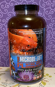 Microbe-Lift ❤️ PL Pond Clear And Clean 32oz New Free Ship