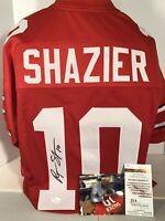 Ryan Shazier Signed Jersey. Ohio St Buckeyes Signed Jersey. JSA COA NEW