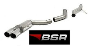 BSR EXHAUST AUDI A4 '08-'14 B8 A5 8T '06-'16 2.0 TDI STAINLESS & CHROME STEEL