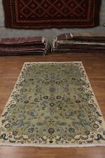 One of a Kind Signed Semi Antique Kashan Persian Rug Oriental Area Carpet 8X11