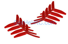 HQ Prop Tri-Blades 5x4x3 RED Mr Steel MultiRotor propeller CW,CCW Mini 250 Quad