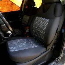 2 BLACK SEAT COVERS FOR FIAT DUCATO MAREA MULTIPLA PALIO TIPO SIENA STILO