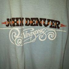 Vintage John Denver Windsong 1970's T shirt