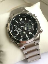 CITIZEN GENTS ECO DRIVE PROMASTER CAL U200-S076455 CHRONOGRAPH WATCH