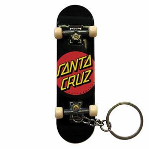 Portachiavi Santa Cruz Classic Dot Fingerboard Keychain Black