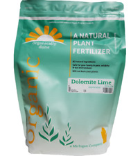 Organically Done Dolomite Lime All Natural Plant Fertilizer USDA Organic 5 lbs