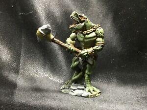 Reaper Miniature 02404: Lizardman Tyrant  Dk Heaven Legends Metal 28 mm PAINTED