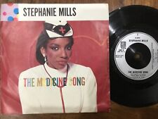 VINYL RECORD SINGLE VINTAGE RETRO 45 STEPHANIE MILLS MEDICINE SONG PICTURE COVER