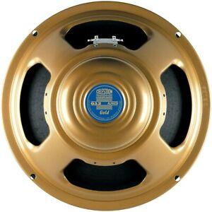 "Celestion Gold 50W, 12"" Alnico Guitar Speaker 15 ohm"