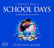 School Days ~ 80's Classics and 90's Hits BRAND NEW SEALED 3 CD BOX SET