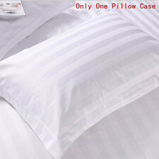 1pcs Cotton Home&Hotel Standard White Stripe Pillowcases Pillow Covers Bedding