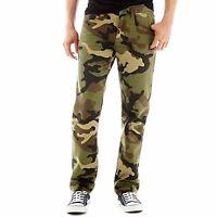 Arizona Mens Jeans Slim fit Straight Leg Camouflage size 29 30 NEW