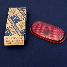 """NOS 1940 Chevrolet Special/Master DeLuxe Master """"85"""" Tail Light Lens LH 5930213"""