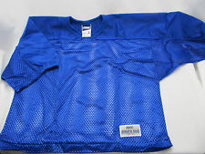 0090cd77f Bike Athletic Nylon Mesh Scrimmage Practice Jersey Adult S S Large Blue NWOT