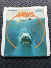 Jaws Video Disc RCA Selectavision Video Disc 1983 CED
