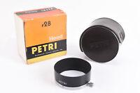 Vintage Petri Orikkor 4.5cm 45mm f/2.8 Lens Hood with Case in Box NEAR MINT V86