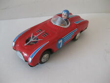 Vintage Friction Tin Toy Race Car Made In China