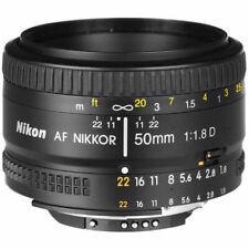 Nikon AF NIKKOR 50mm f/1.8D Lens with Nikon HR-2 Rubber Hood