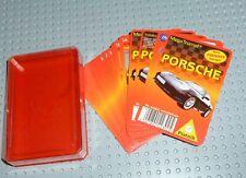 Porsche Quartett Piatnik Megatrumpf in Box - komplett + toll