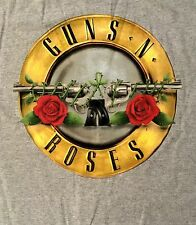 GUNS N' ROSES cd cvr APPETITE FOR DESTRUCTION BULLET Official GREY SHIRT XL new
