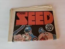 CHICAGO SEED UNDERGROUND ALTERNATIVE PAPER VOL. 5 NO. 7 WOODSTOCK GAY PRIDE ++