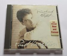 Richard Marx - Paid Vacation CD Album One More Try