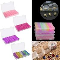 28 Grids Nail Art Empty Storage Box Jewelry Organizer Display Container Case