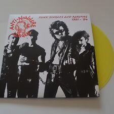 ANTI-NOWHERE LEAGUE - Punk singles and rarities 81/84 - 2LPs YELLOW  VINYL