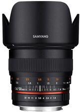 Samyang 50mm F1.4 AS UMC Full Frame Standard Lens for Sony E mount NEX ILCE