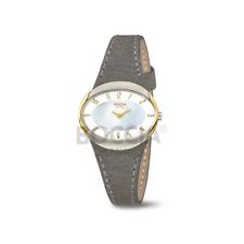Boccia Titan Uhr Damenuhr analog bicolor 3275-02 Neu Oval Perlmuttzifferblatt