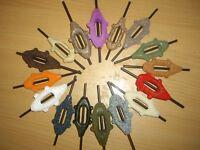 25 plombs carpe feeder in line 30/50/90 g couleur et grammage au choix