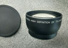 X2 Telephoto Converter 52mm Supplementary Screw In Conversion Lens