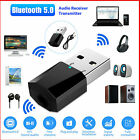 3.5mm AUX To USB Wireless Bluetooth Audio Stereo Car Music Receiver Adapter Hot