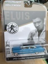 Greenlight  HOLLYWOOD  ELVIS 1955 Cadillac Fleetwood Series 60. blue