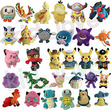 Pokemonster 2017 Plush NEW Character Soft Toy Stuffed Animal Doll Teddy NEW
