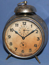 Antique German Junghans alarm clock