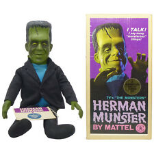 1964 HERMAN MUNSTER TALKING DOLL w/Rare BOX & HANG TAG by MATTEL Munsters Puppet