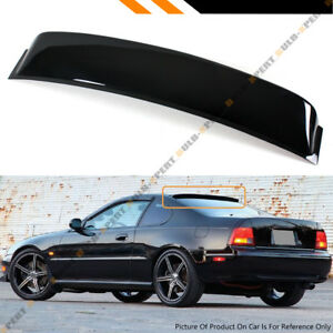 For 1991-1996 4th Gen Honda Prelude JDM Blk Rear Window Visor Roof Aero Spoiler