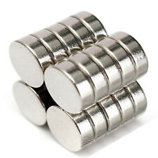 Strong Disk Magnet 10pcs 14mm x 5mm Rare Earth 14 x 5 Neodymium Disc Magnetic